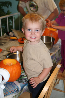 Kevins first pumpkin.jpg