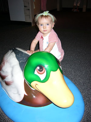 Annika big duck