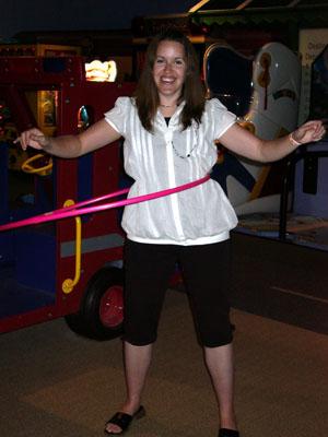 christina hula hoop