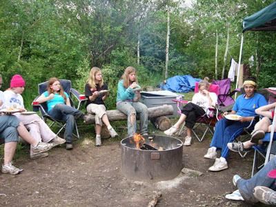girls eating girls camp