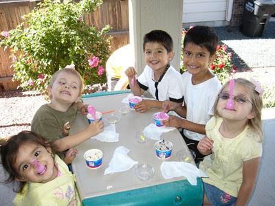 silly cousins ice cream